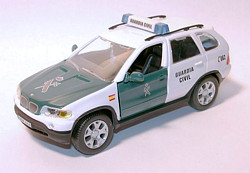 BMW X5 Guardia Civil E