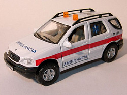 Mercedes Benz ML320 Ambulancia 061 E