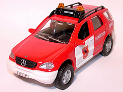 Mercedes Benz ML320 Bomberos Madrid 080 E