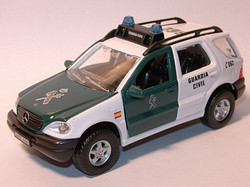 Mercedes Benz ML320 Guardia Civil E
