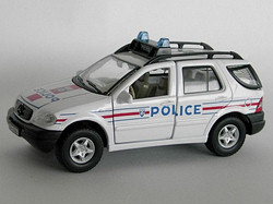 Mercedes Benz ML320 Police Nationale F