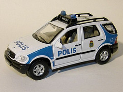 Mercedes Benz ML320 Polis S